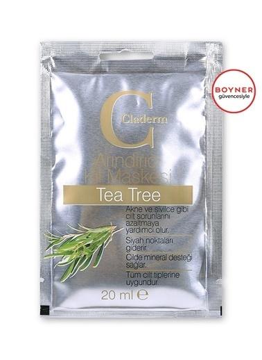 Claderm Claderm Tea Tree Arındırıcı Kil Maskesi 20 Ml Renksiz